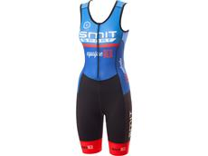 equipeRED Smit Sport Damen Triathlon Body blue