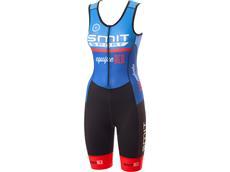 equipeRED Smit Sport Damen Triathlon Body blue