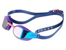 Speedo Fastskin Elite Mirror Schwimmbrille violet/blue mirror