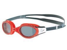 Speedo Futura Biofuse Polarised Schwimmbrille lava red/smoke