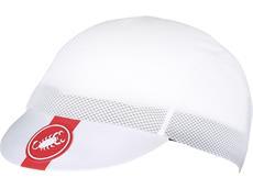 Castelli A/C Cycling Cap Mütze - Unisize white