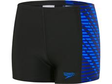 Speedo Allover Panel Aquashort Jungen Badehose Endurance10