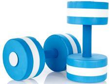 Speedo Aqua Dumbell Aqua Jogging Hanteln blau
