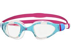 Zoggs Aqua Flex Schwimmbrille blue-pink/clear