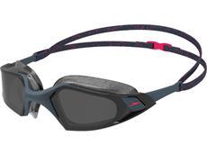 Speedo Aquapulse Pro Schwimmbrille oxid grey-phoenix red/smoke