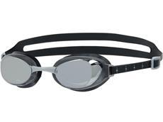 Speedo Aquapure Mirror Schwimmbrille black/silver/chrome
