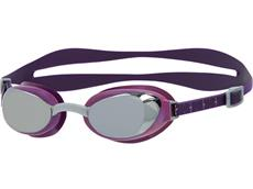 Speedo Aquapure Mirror Women Schwimmbrille bramble/silver/chrome