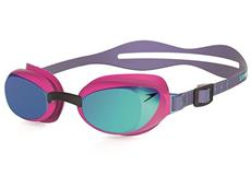Speedo Aquapure Mirror Women Schwimmbrille electric pink/blue