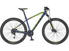 Scott Aspect 750 Mountainbike - S mystic blue/volt green