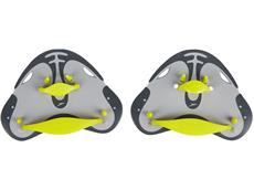 Speedo Biofuse Finger-Paddles grey/lime punch