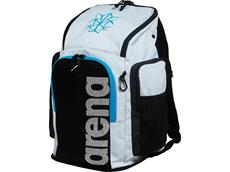 Arena Bishamon Team Backpack 45 Rucksack white/turquoise