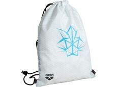 Arena Bishamon Team Swimbag white/turquoise