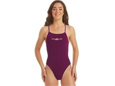 Amanzi Bordeaux Ladies Badeanzug Tie Back
