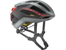 Scott Centric Plus 2018 Helm - L grey/red
