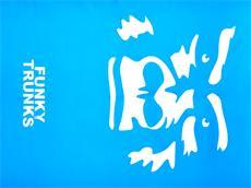 Funky Trunks Chamois Sport Towel Handtuch The Beast