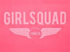 Funkita Chamois Sport Towel Handtuch Girl Squad