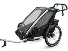 Thule Chariot Sport 1 Black Edition Kinderanhänger inkl. Jogging-Set
