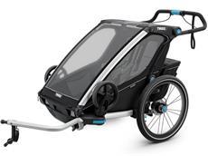 Thule Chariot Sport 2 Black Edition Kinderanhänger inkl. Jogging-Set