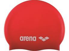 Arena Classic Silikon Junior Badekappe - red