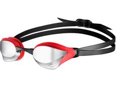 Arena Cobra Core Mirror Schwimmbrille - silver/red/black