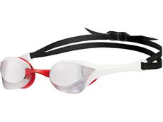 Arena Cobra Ultra Mirror Schwimmbrille - silver/white/red