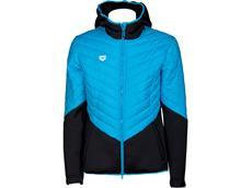 Arena Cocoonwear Half-Quilted Hooded Jacket Kaputzenjacke