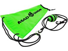 Mad Wave Drag Bag Schwimm-Fallschirm green