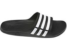 Adidas Duramo Slide Badeschuh - 10 black/white