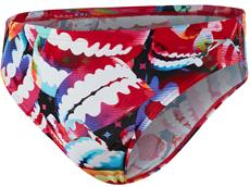 Speedo Electric Gem Flipturns Print Brief 5 cm - Endurance+