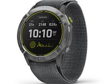 Garmin Enduro GPS Multisportuhr grau/silber