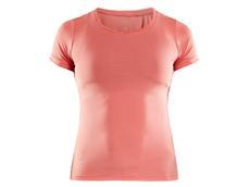 Craft Essential V-Neck Damen Laufshirt - M dahlia