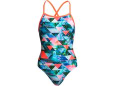 Funkita Split Scene Girls Badeanzug Tie me Tight
