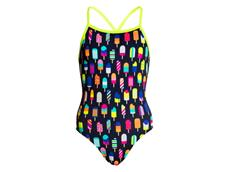 Funkita Frosty Fruits Girls Badeanzug Tie Me Tight
