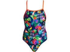Funkita Tropic Tag Ladies Badeanzug Tie Me Tight