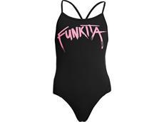 Funkita Pinked Girls Badeanzug Twisted One Piece