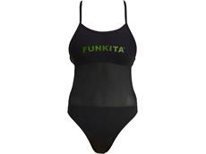 Funkita Night Lights Ladies Badeanzug Mesh Up