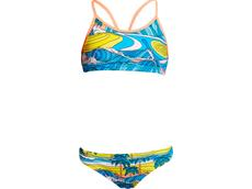 Funkita Summer Bay Girls Schwimmbikini Eco Racerback