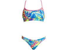 Funkita Eco Poptail Ladies Schwimmbikini Swim Crop Top + Hipster Brief