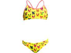 Funkita Hot Diggity Girls Schwimmbikini Racerback