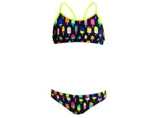 Funkita Frosty Fruits Girls Schwimmbikini Racerback