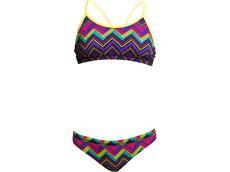 Funkita Knitty Gritty Girls Schwimmbikini Racerback