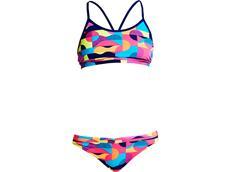 Funkita Mad Mist Girls Schwimmbikini Racerback