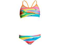 Funkita Pina Colada Girls Schwimmbikini Racerback