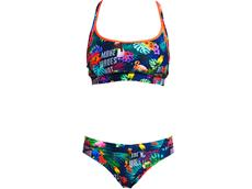 Funkita Tropic Tag Ladies Schwimmbikini Sports Top + Sports Brief - 34 (8)