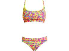 Funkita Bound Up Ladies Schwimmbikini Sports Top + Sports Brief