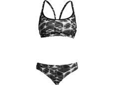 Funkita Black Hole Ladies Schwimmbikini Sports Top + Sports Brief