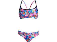 Funkita Club Tropo Ladies Schwimmbikini Sports Top + Sports Brief
