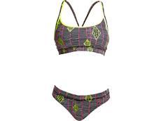 Funkita Kite Runner Ladies Schwimmbikini Sports Top + Sports Brief