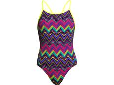 Funkita Knitty Gritty Girls Badeanzug Diamond Back