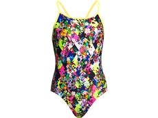 Funkita Princess Cut Girls Badeanzug Diamond Back